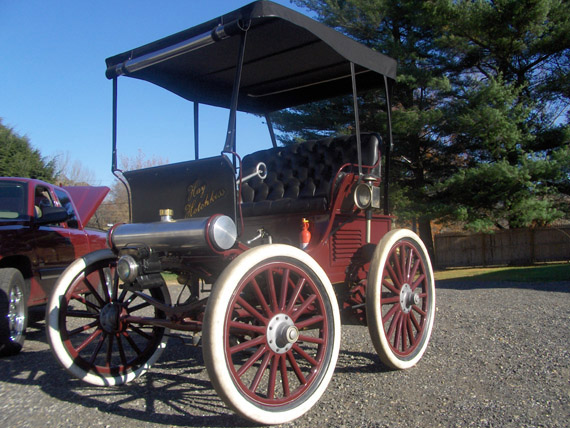 1897 Hotchkiss Horseless Carriage
